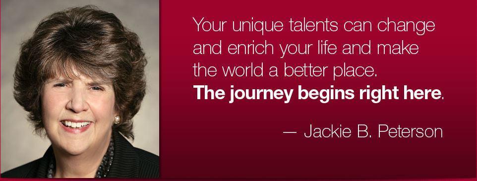 Jackie B Peterson